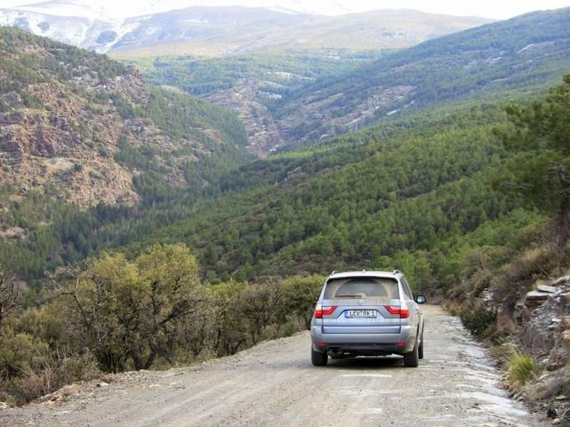 Tour Sierra Nevada-BMW X3.JPG